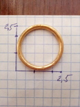Золото кольцо по ЧК 6.50гр. photo 3