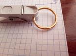 Золото кольцо по ЧК 6.50гр. photo 5