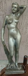 Оголена, статуетка, Ленінгад.