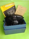 Фотоаппарат 60-е года. Школьник (коробка + паспорт)