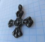 Срібний хрест Київської Русі скандінавського типу.