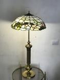 Настольная лампа в стиле Тиффани. Винтаж. Европа