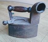 Утюг угольный, с трубой, 19х9,5х22