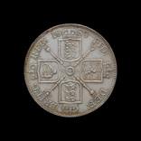 Двойной Флорин 1889, Великобритания Цифра 1 Арабская