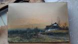 Картина Juliusz Holzmuller 1910 года украинский-польский художник