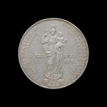 2 Гульдена 1855 Восстановление колонны Мадонны в Мюнхене, бавария