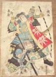 Укиё-э. Япония. Самураи. Утагава Йошитора(1836-1882).