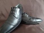 """Брендові шкіряні туфлі """"YVES GERARD"""" 41 розмір."""
