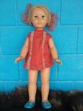 Кукла СССР паричковая на резинках, клеймо photo 1