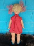 Кукла СССР паричковая на резинках, клеймо photo 2