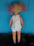 Кукла СССР паричковая на резинках, клеймо photo 5