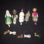 16 шт. Старых ёлочных игрушек photo 8