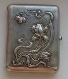 Портсигар. серебро 875