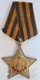 Орден Славы ІІ степени № 5996
