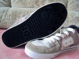 Кроссовки кожаные  мужские  DC Shoes  Dolce & Gabbana  размер 42 стелька 27 photo 6