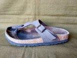 Кожаные сандали босоножки Birkenstock. 34 размер