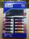 Краски акриловые в наборе Basics 12цв,12мл