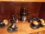 Чайный сервиз позолота Pinar Japan на 6 персон