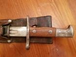 Штик-ніж швейцарський карабіна Шмідта-Рубіна.(Ранній)з підвісом.1911