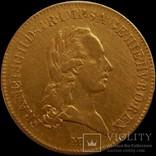 Соврано 1796 року (Мілан). Габсбурзька монархія, Франциск ІІ, золото 10,58 г