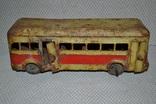 Автобус зис жестяная игрушка 40-50 е годы