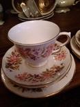 4 чайные тройки Англия Colclough 60-е гг.