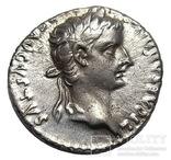 Денарий Тиберий 14-37 г. н.э.