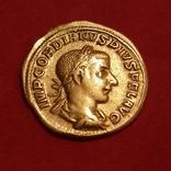 Ауреус, изображены Гордиан ІІІ - Юпитер 241-243 г.г. photo 1