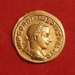 Ауреус, изображены Гордиан ІІІ - Юпитер 241-243 г.г. photo 3