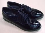 Туфли Лоферы цвет черный 37 размер. 23.5 см стелька