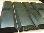 10 шт Подставка для моделей авто масштабом 1:43 Цвет Черный. Материал дерево, фото №4