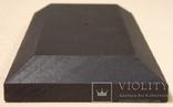 10 шт Подставка для моделей авто масштабом 1:43 Цвет Черный. Материал дерево, фото №9