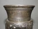Кубок или вазочка украшенная изображением винограда, фото №8