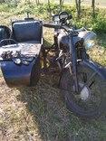 Ранний м-72 на жевых документах двигатель рама коробка номер 100 photo 7