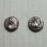 Херсонес Фракийский, 2 гемидрахмы, 400-350 г.г. до н.э., серебро
