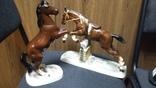 Статуэтки фарфор лошади германия