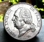 5 Франків 1824 р. Луі 18