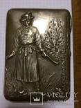 Портсигар серебро 84 Иван Царевич, фото №3