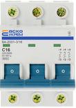 Автоматический выключатель (Автомат) УКРЕМ ВА-2001 3р 16А