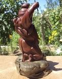 Эбису с карпом, высота 46 см. photo 8