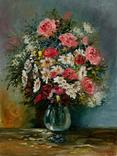 Квітковий настрій, 18*24 см, олія