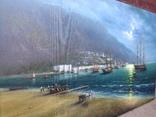 """""""Ялта"""" холст масло 60х100 Борисенко photo 5"""