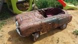 Детская педальная машина Москвич (из первых моделей)