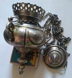Серебрянная лампада
