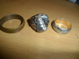 Кольцо печатка крестик 6 предметов в лоте, фото №5