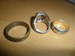 Кольцо печатка крестик 6 предметов в лоте, фото №7