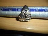 Кольцо печатка крестик 6 предметов в лоте, фото №10
