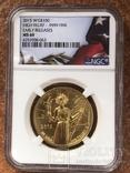 100$ USA 2015 W