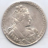 Рубль 1733 года