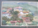 Крымский пейзаж, х-к Басов, фото №2